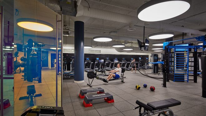 another gym area